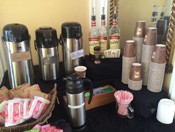Magic Castle Hotel coffee bar pic