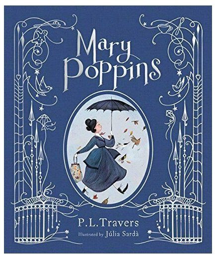 mary poppins illustrated book cover