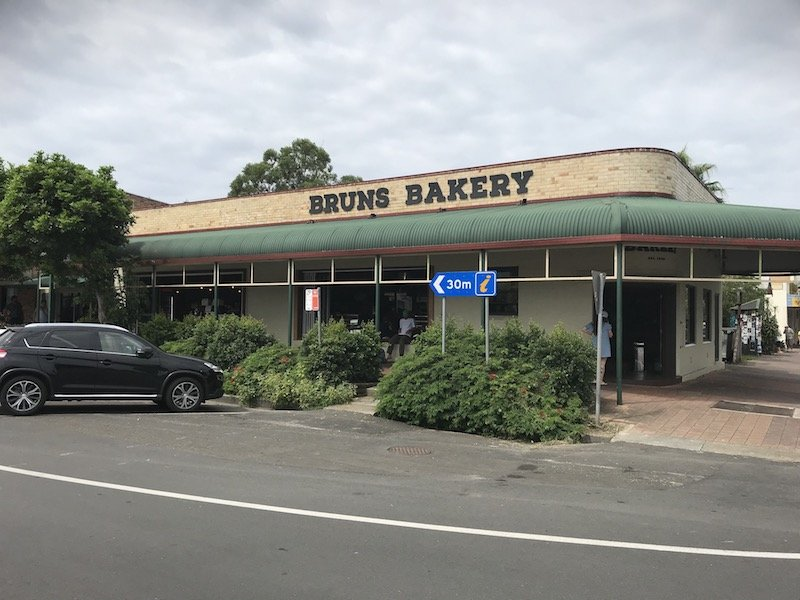 Brunswick Heads Bakery building pic