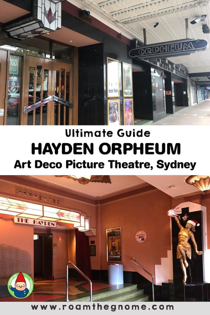 PIN hayden orpheum cremorne