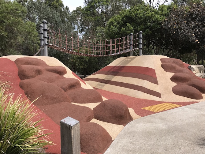 Sydney Park Playground with family pic