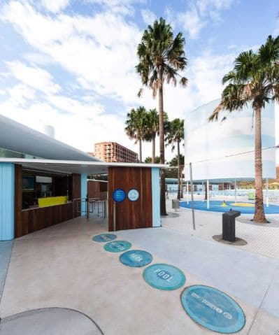 Prince Alfred Park Pool entrance pic
