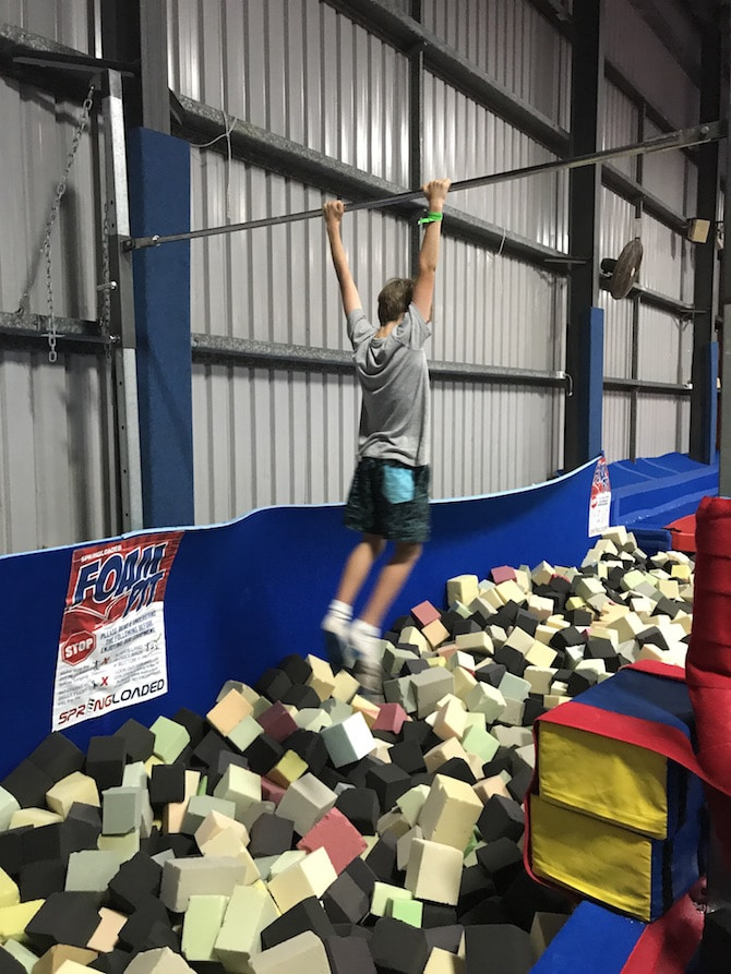 Spring-Loaded-Trampoline-Park-Tweed-Heads-Banora-Point-gym-bar pic 670