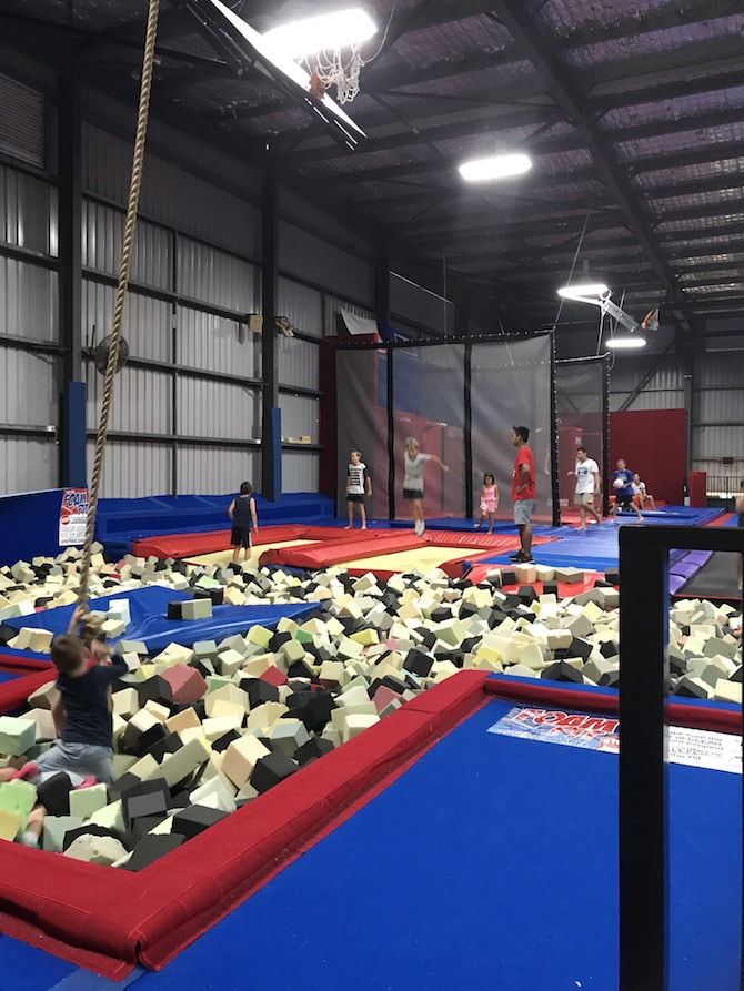Spring Loaded Trampoline Park Tweed Heads Banora Point pic