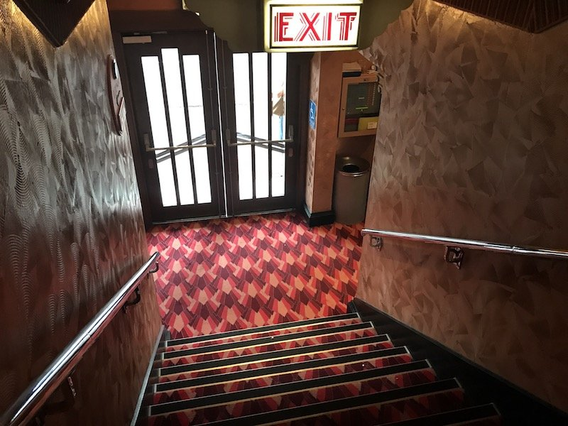The Cremorne Orpheum Picture Palace exit doors
