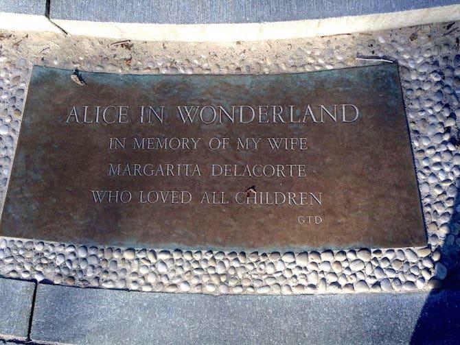 Photo- Alice in Wonderland Statue dedication