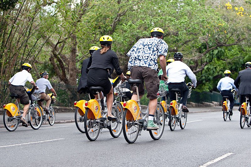 brisbane city cycle launch by bcc