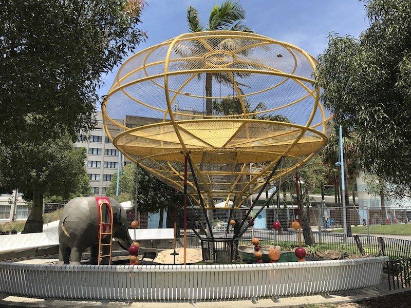 photo - Prince Alfred Park Playground_baby elephant copy 2