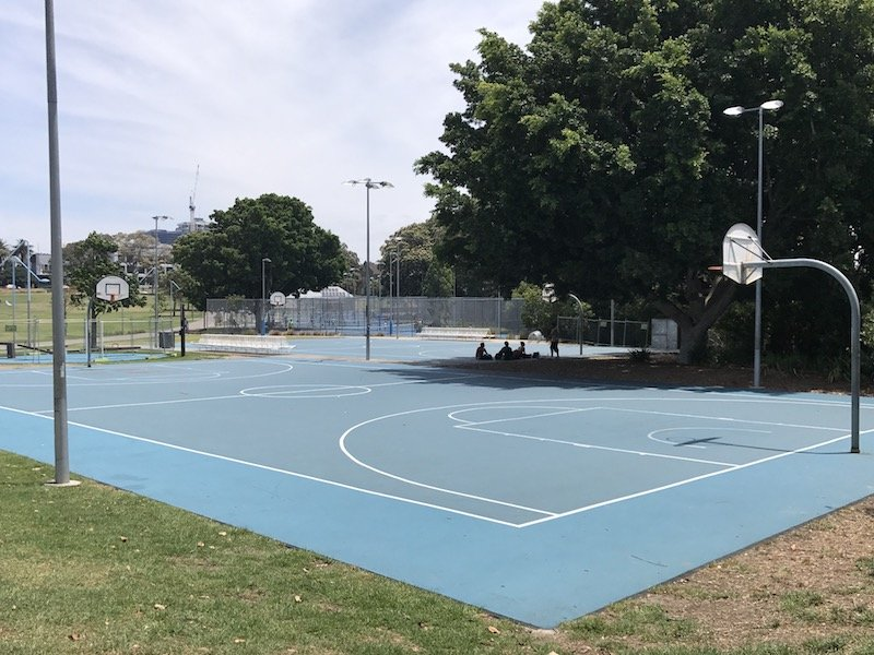 photo - Prince Alfred Park Playground_basketball and tennis copy 2