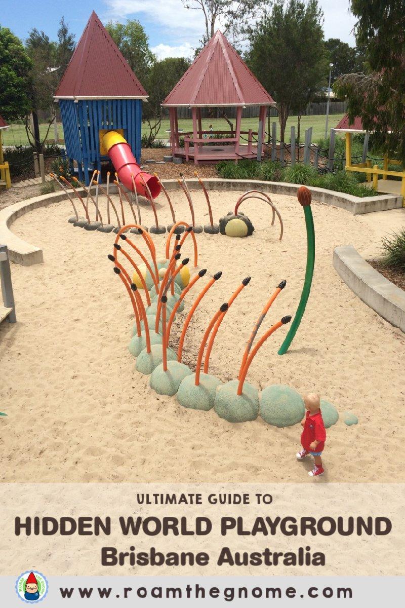 PIN HIDDEN WORLD playground