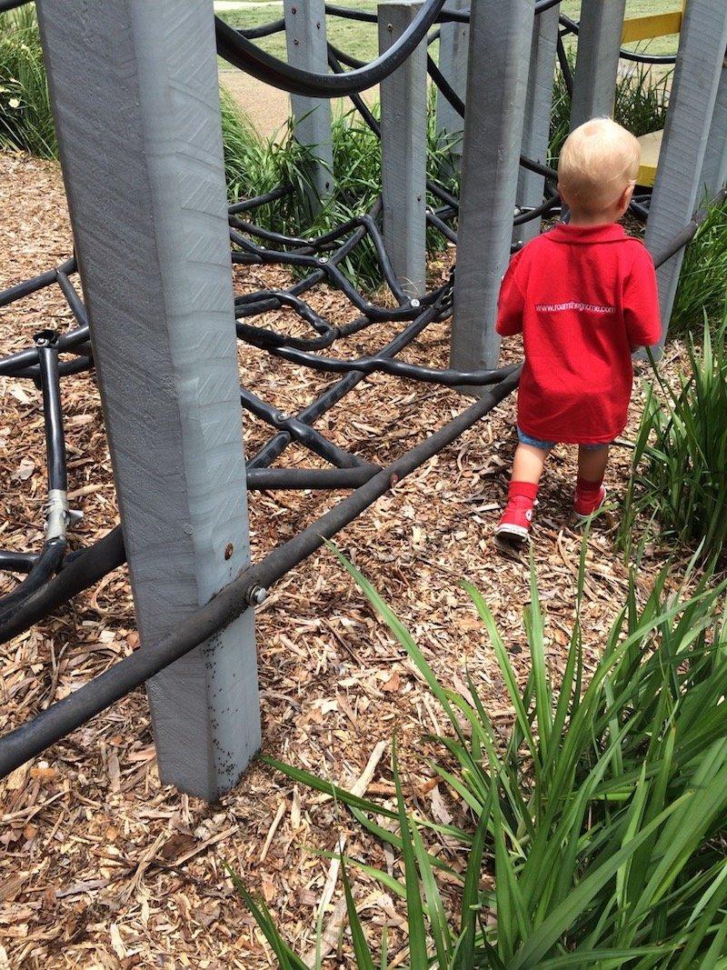 photo - fitzgibbon hidden world playground rubber walking track
