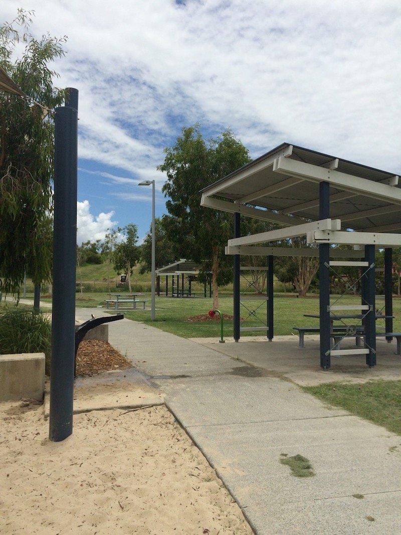 photo - hidden world playground fitzgibbon picnic spot