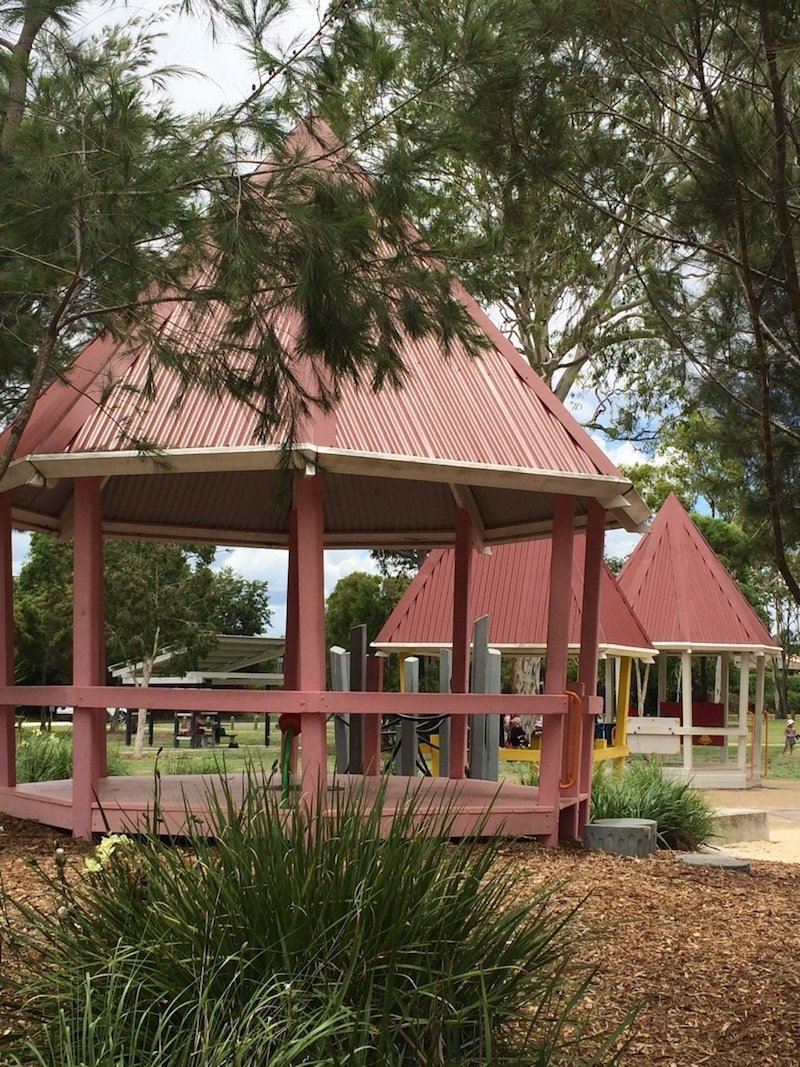 photo - hidden world playground fitzgibbon qld