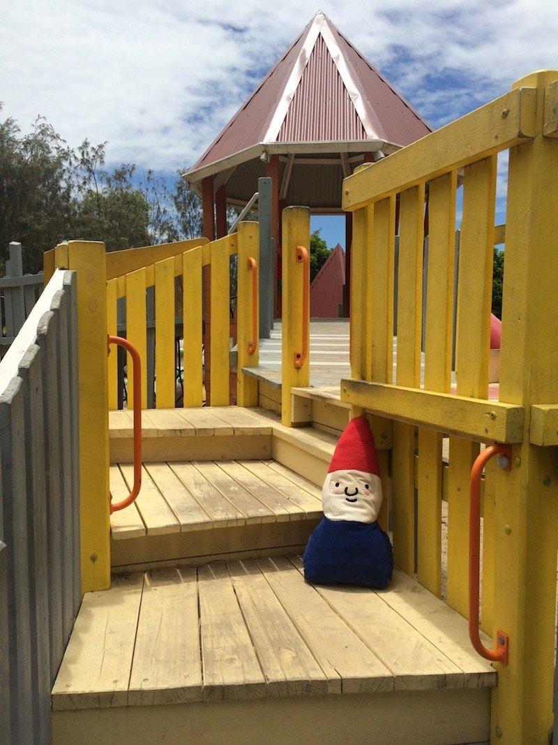 photo - hidden world playground fitzgibbon stairs