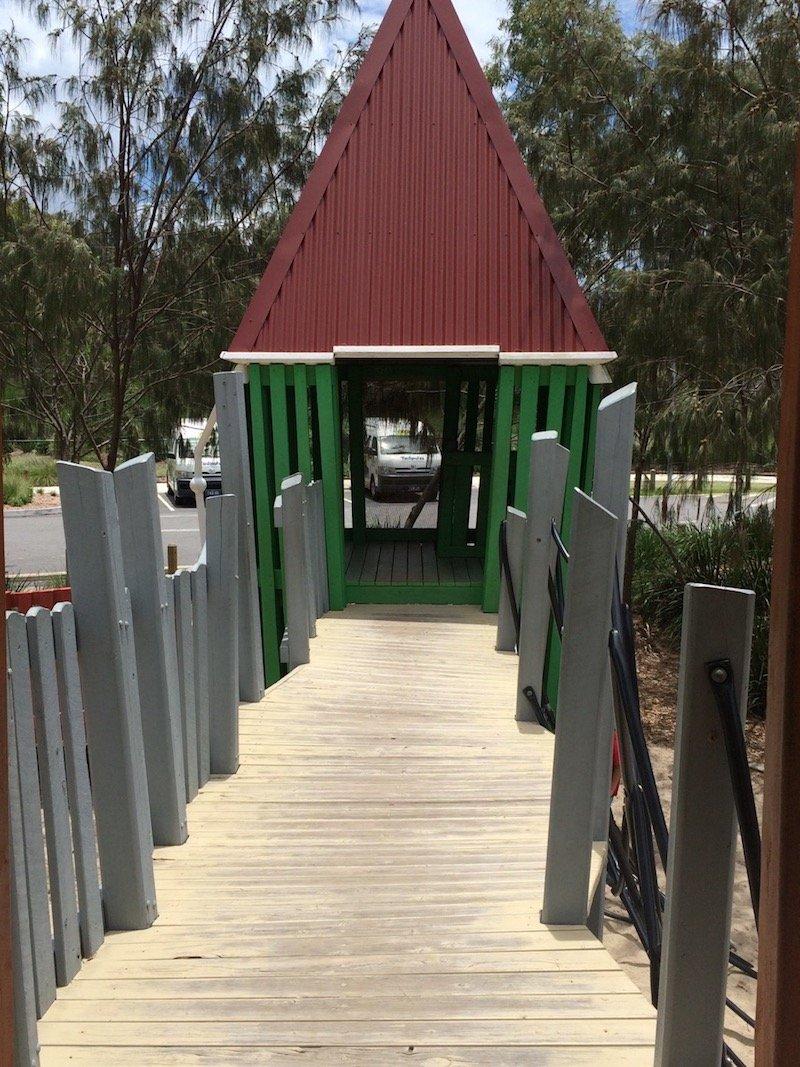 photo - hidden world playground fitzgibbon walkway