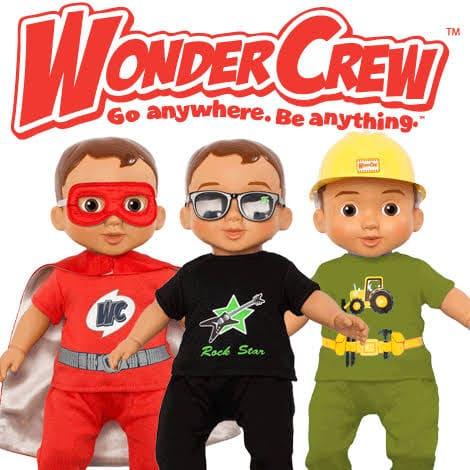 wonder crew dolls pic