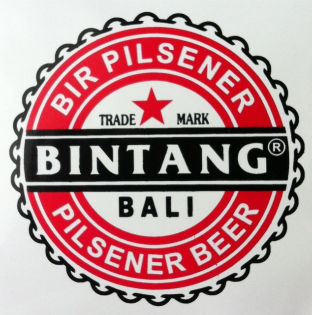 Bintang Stickers in Bali