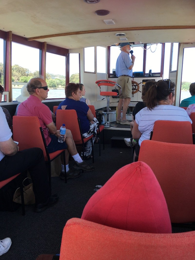 lake burley griffin cruises tour guide pic