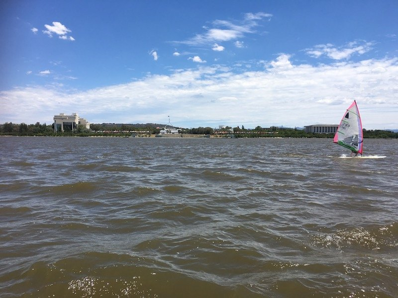 lake burley griffin cruises view pic