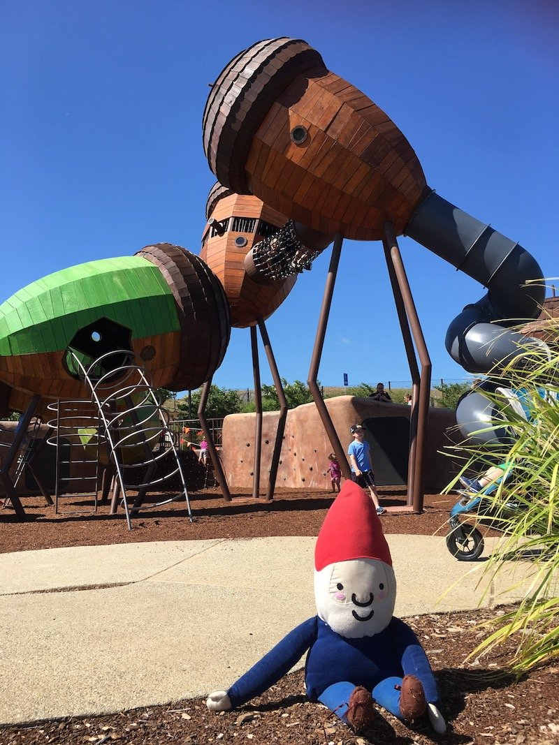 pod playground canberra with roam the gnome pic
