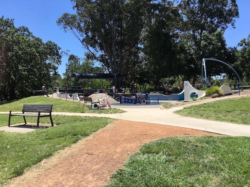 weston park adventure playground entrance pic
