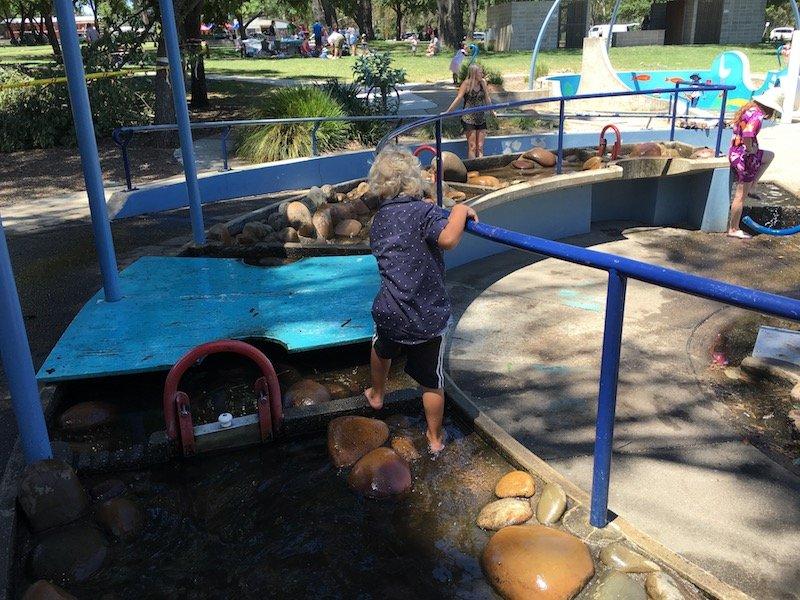 weston park adventure playground water course walk pic
