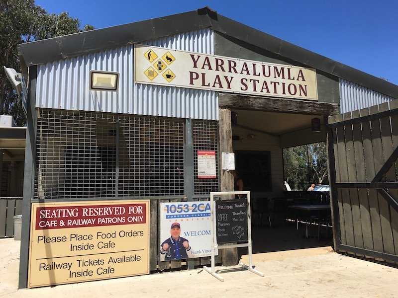 yarralumla play station building exterior pic