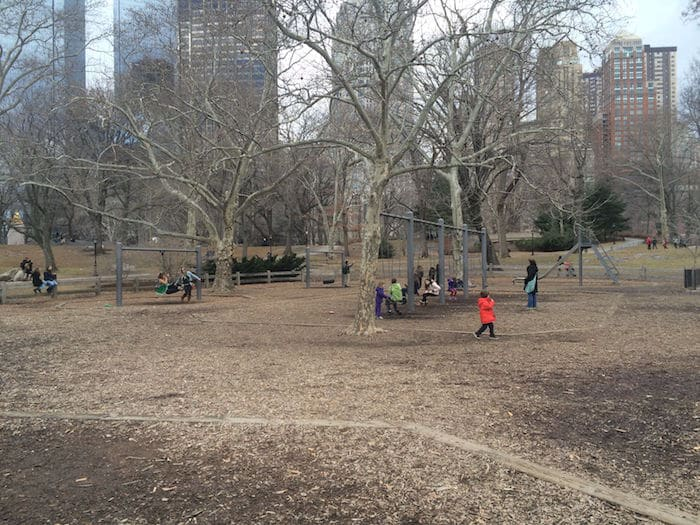 Visit ROAM THE GNOME Family Travel Website Directory for SUPER DOOPER FUN ideas for family vacations around the world. Search by city. Photo- Heckscher Playground Central Park trees