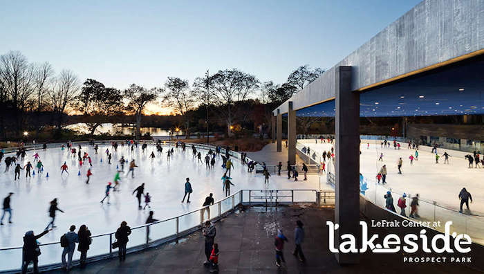 Visit ROAM THE GNOME Family Travel Website Directory for SUPER DOOPER FUN ideas for family vacations around the world. Search by city. Photo - Childrens Corner Prospect Park Lakeside Ice Skating