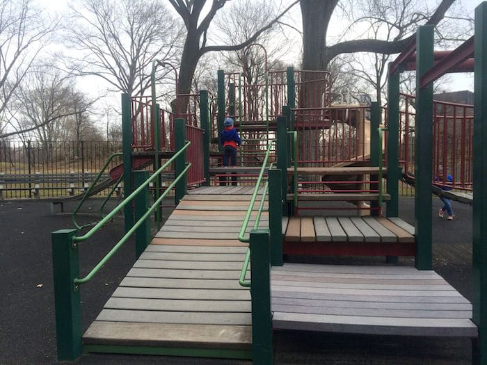 Visit ROAM THE GNOME Family Travel Website Directory for SUPER DOOPER FUN ideas for family vacations around the world. Search by city. Photo - The Rudin Family Playground Central Park small fort