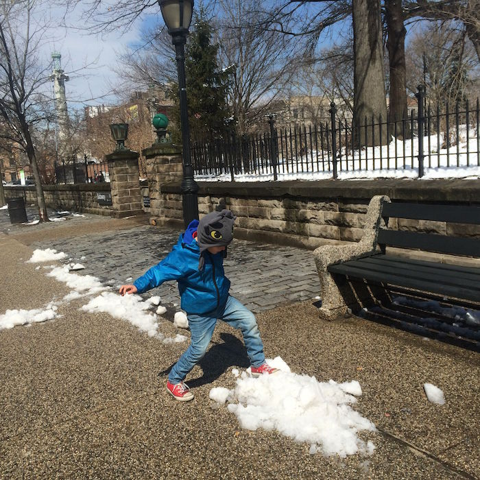 Visit ROAM THE GNOME Family Travel Directory for MORE SUPER DOOPER FUN ideas for family-friendly travel around the world. Search by City. Photo - Vanderbilt Playground Prospect Park Brooklyn snow day