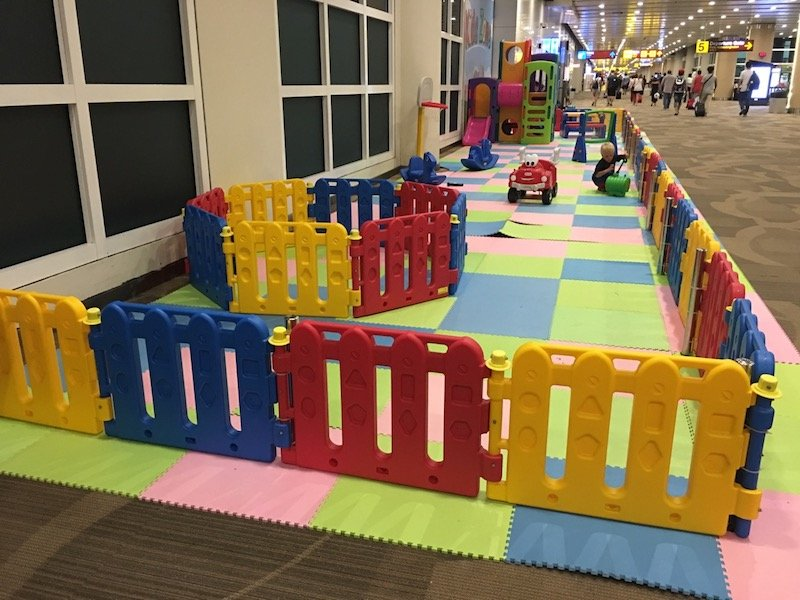 image - Bali Airport Lounge_play area view