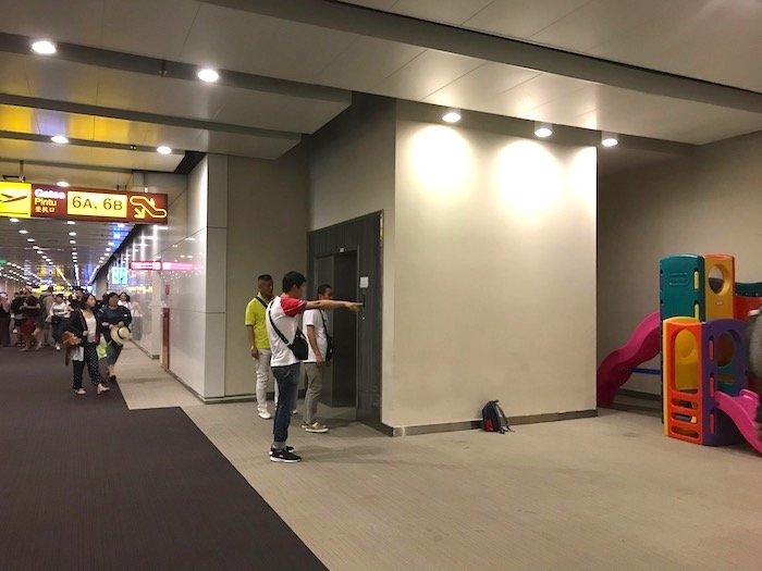 image - bali airport playground equipment storage