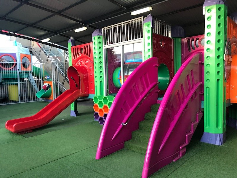 photo - mcdonalds taupo plane playground