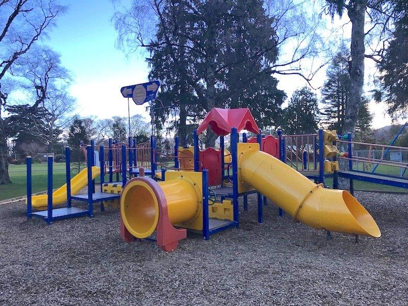 photo - taupo playground fort