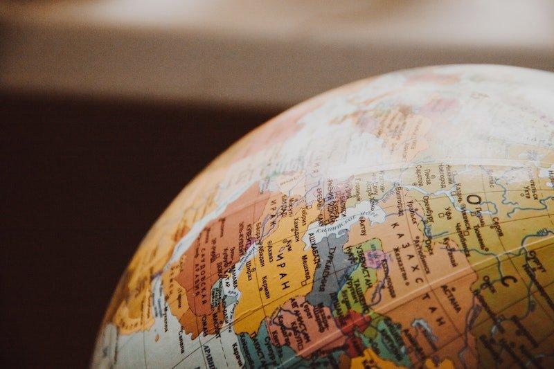 skyroam rental - close-up-of-globe-335393 pexels by nastyasensei