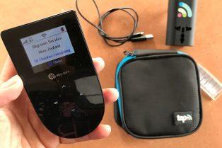skyroam rental pocket wifi on the go device