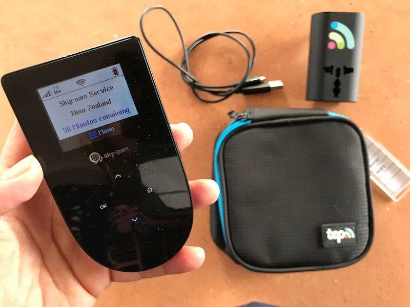 skyroam rental pocket wifi on the go device pic