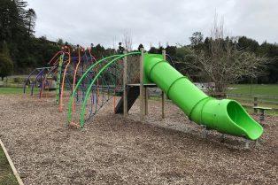 waitomo playground slide pic