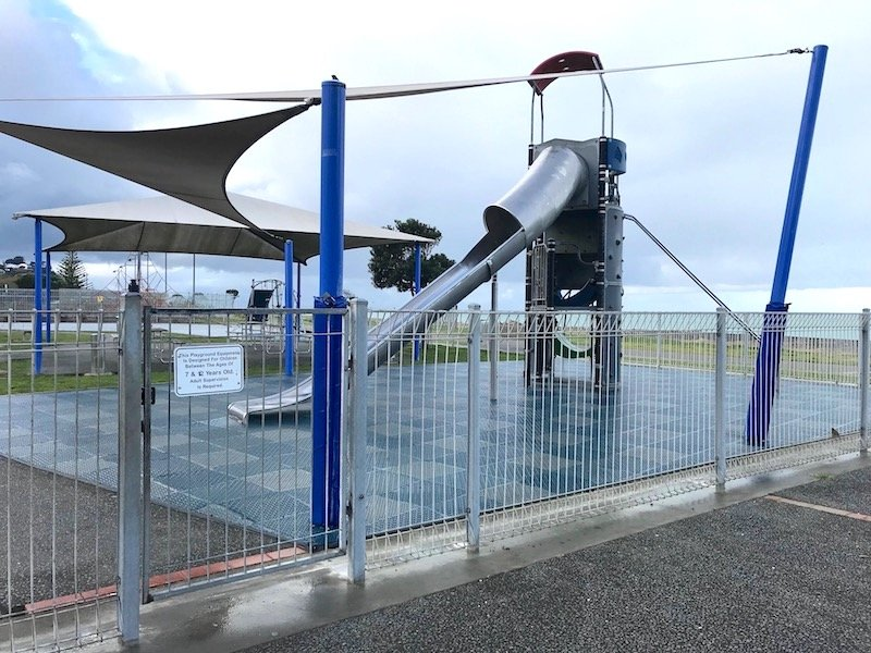 Napier Playground big kid fort pic