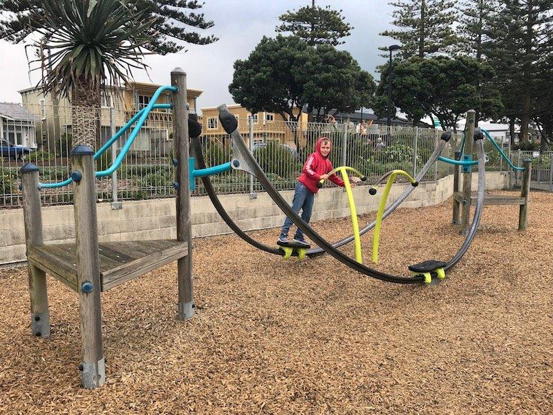 Napier Playground slide pic