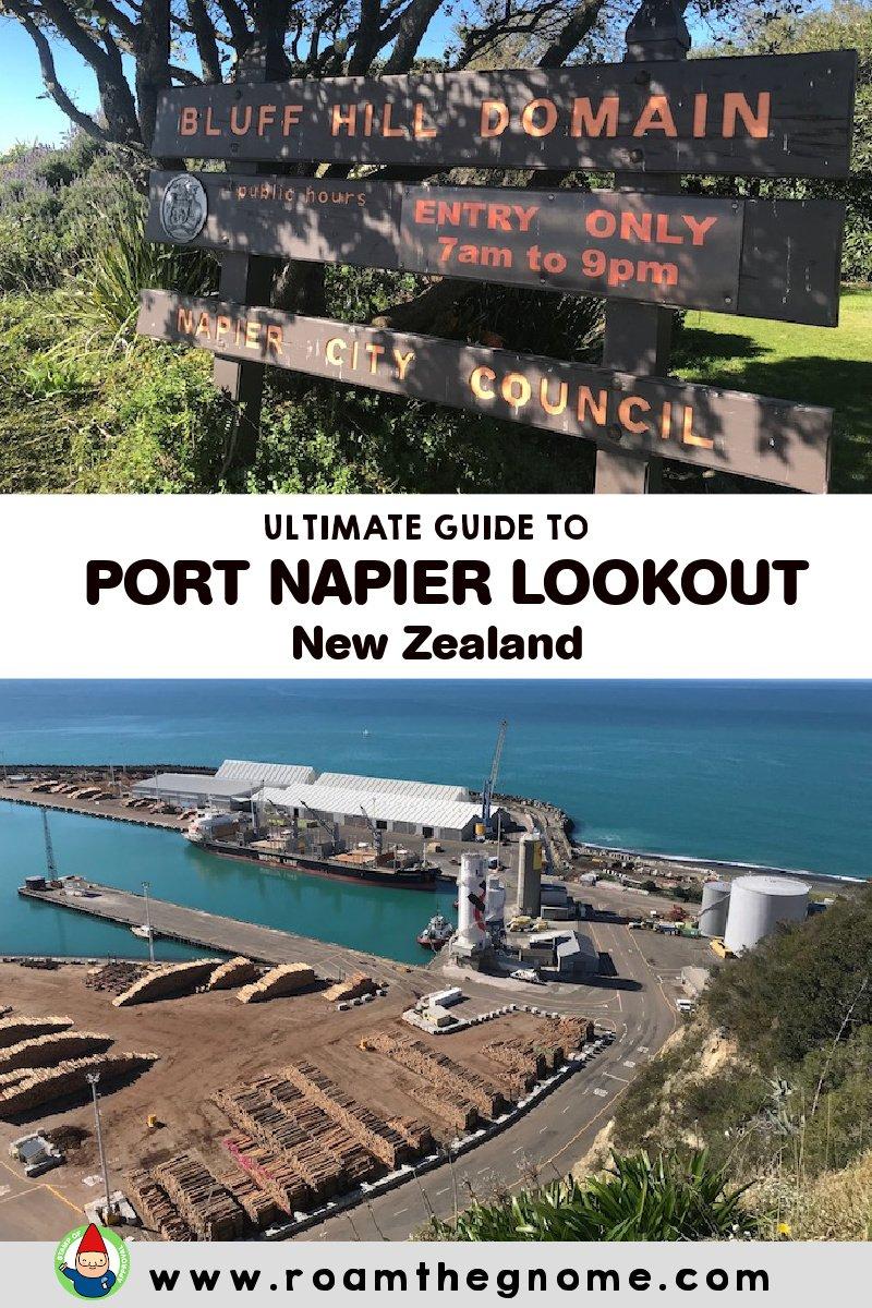 PIN port napier lookout