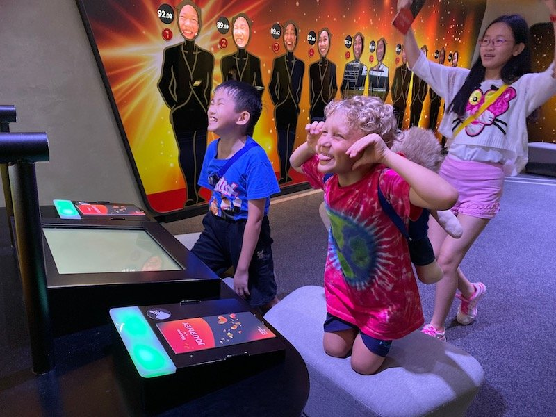 changi experience studio biggest smile competition with jack and friend pic 800