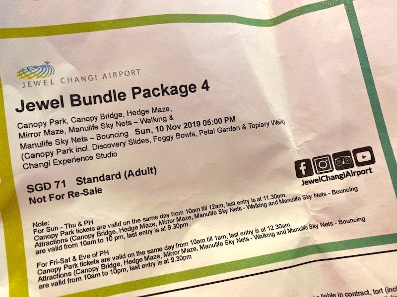 jewel bundle package 4 pass