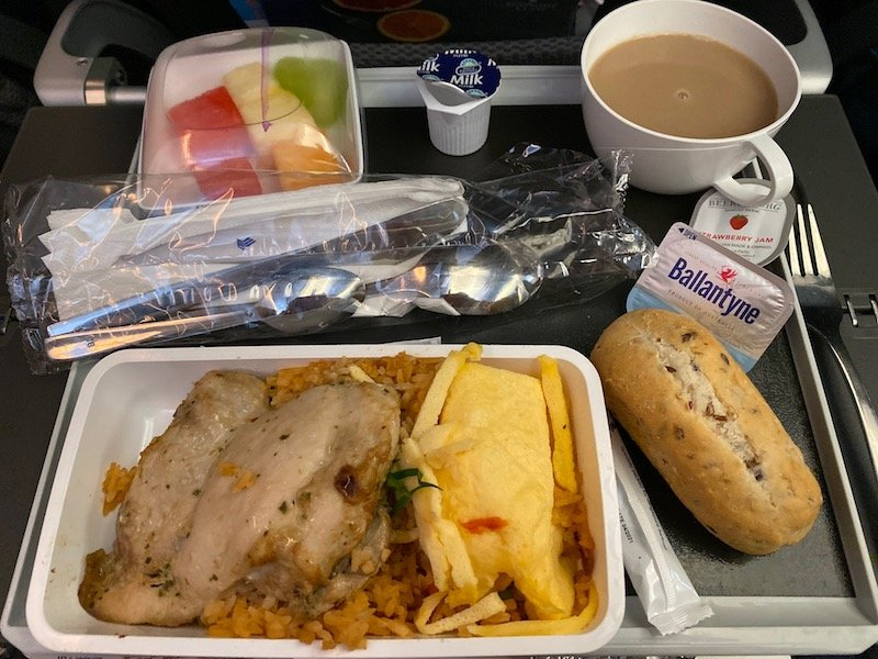 singapore airlines economy class meal pic 800