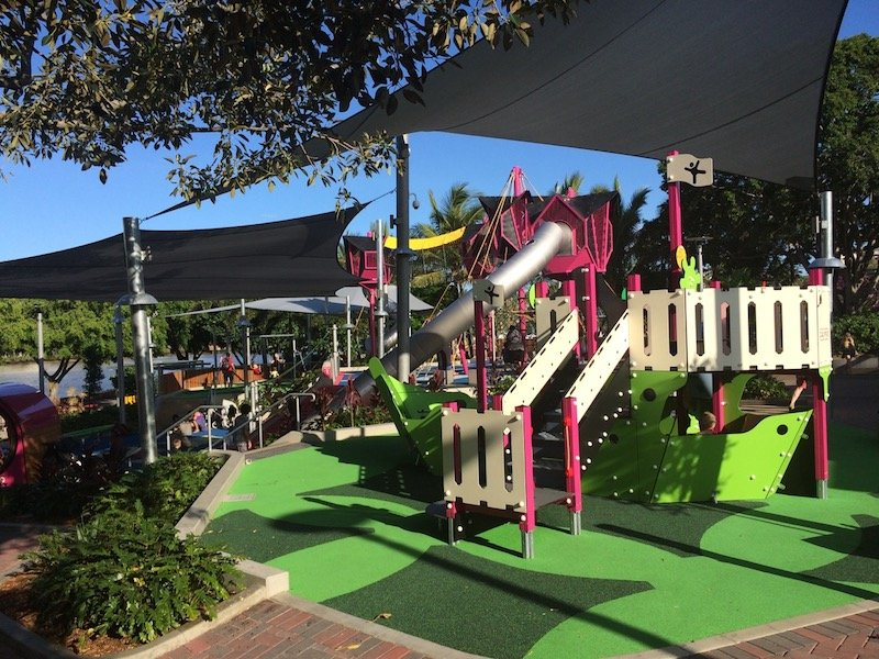 southbank riverside green playground for kids pic
