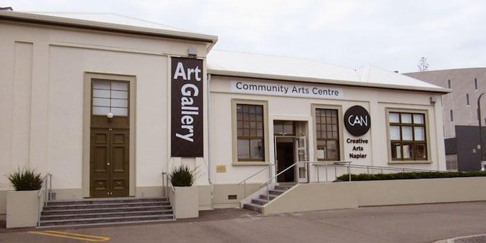 Creative Arts Napier building pic