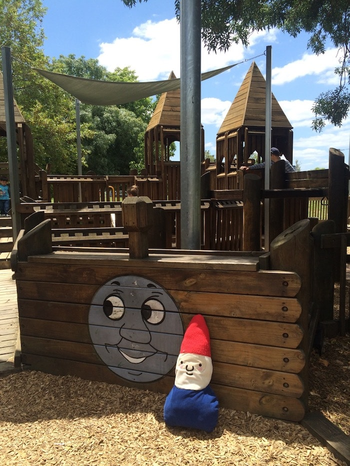Albert Park playground in melbourne pic