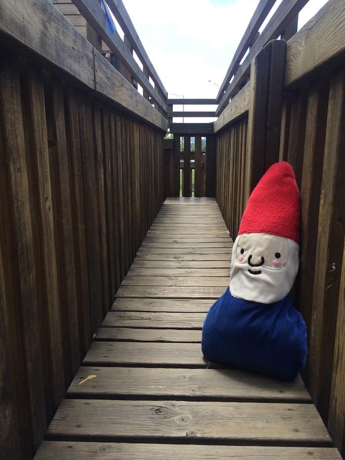 Albert Park playground walkway pic