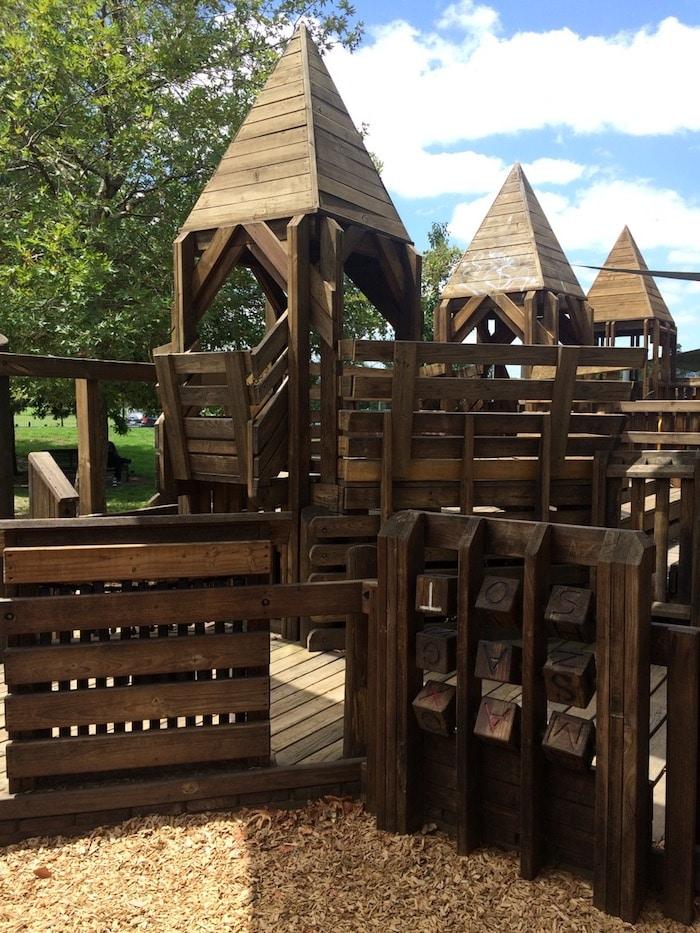 Albert Park playground melbourne pic